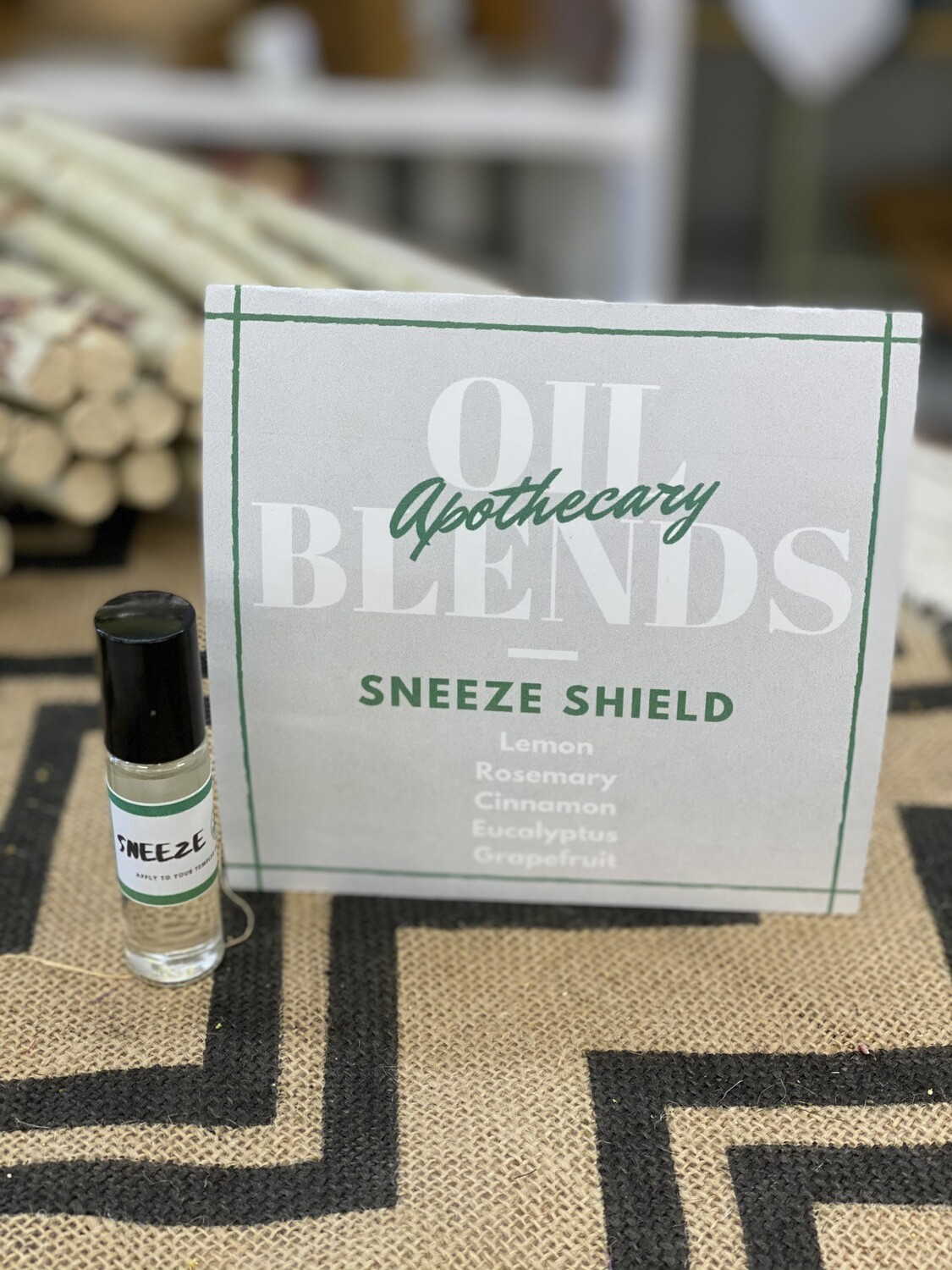 Apothecary Oil Blends - Sneeze Shield Essential Oil Roll On