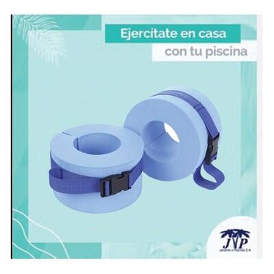 Pesas de talón para ejercicios acuáticos (par). Precio sin ISV.