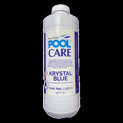 Aclarador Pool Care Krystal Blue 32 oz