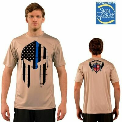 Men's Spartan Police Support - Short Sleeve