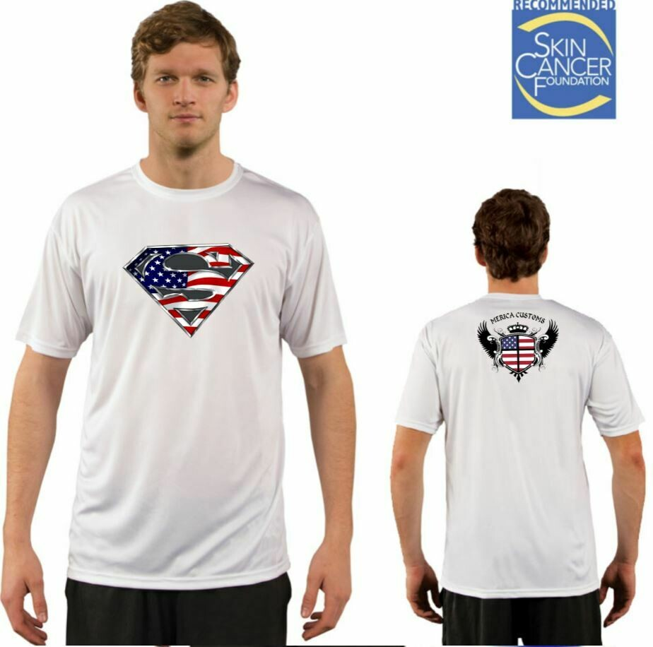 Men's American Super Vapor Solar Tee - Short Sleeve