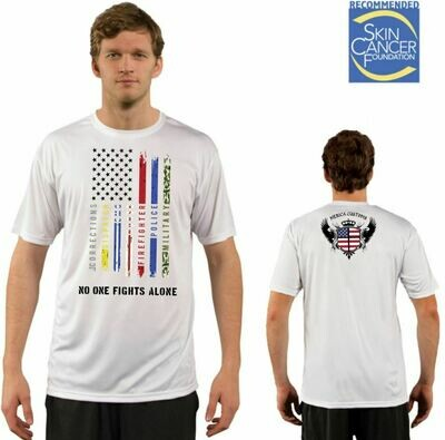 Men's All Lines Support Flag Sublimation Vapor Solar Tee - Short Sleeve