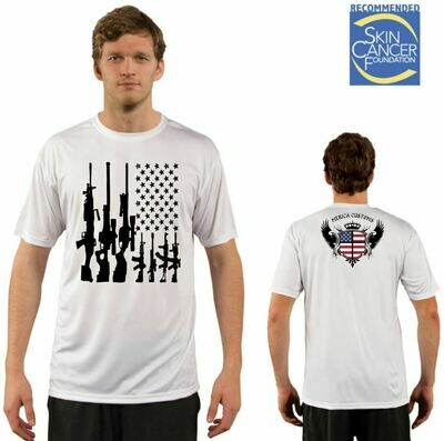 Men's American Gun Flag Tee - Short Sleeve