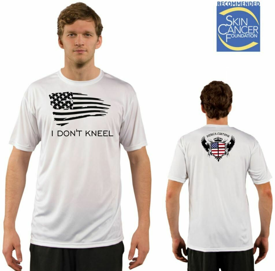 Men's I Don't Kneel Vapor Solar Tee - Short Sleeve