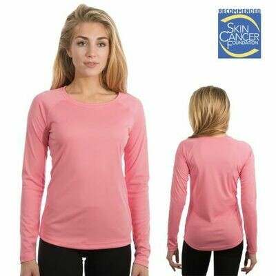Ladies Sublimation Vapor Solar Tee - Long Sleeve