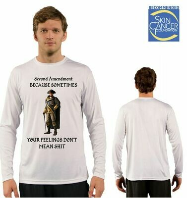 Mens Second Amendment Sublimation Vapor Solar Tee - Long Sleeve