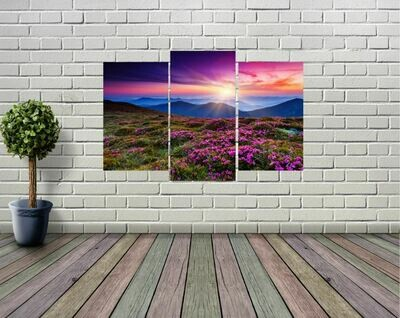 Alaskan Mountain Range Panel Wall Art