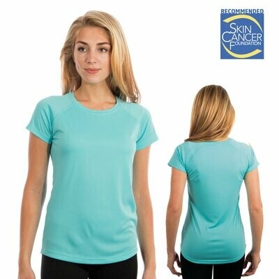 Custom Made/ Personalized Vapor Ladies Short Sleeve Tee