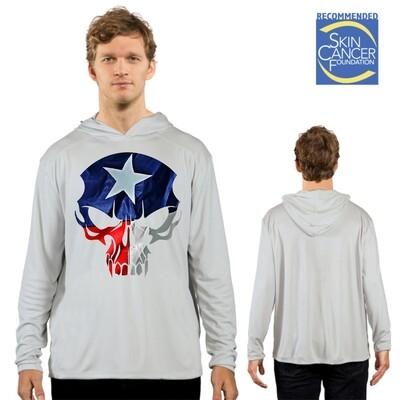 Custom Printed Solar Shirt Hoody - No Pocket - Adult