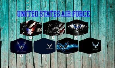 United States Air Force Face Mask
