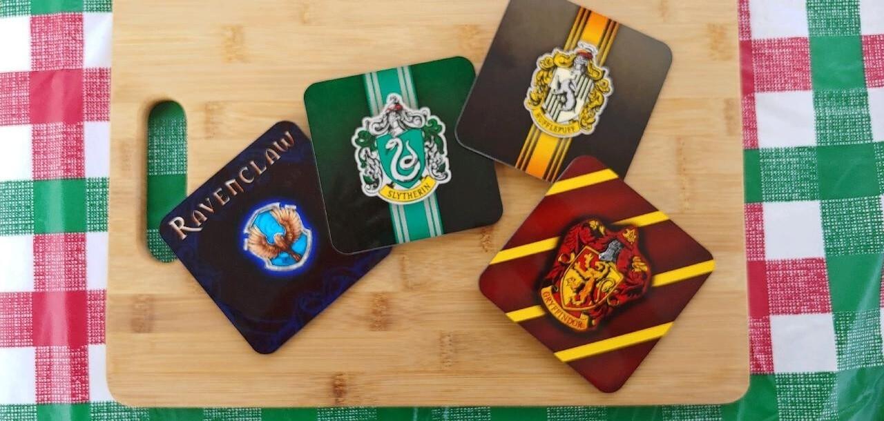 Harry Potter Neoprene Coasters