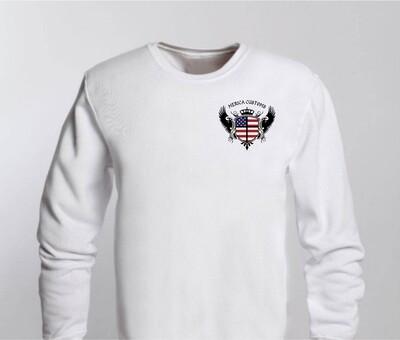 Personalized photo Polyester Sweatshirt - Adult