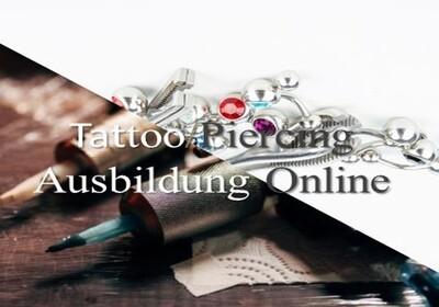Tattoo und Piercing Ausbildung Online