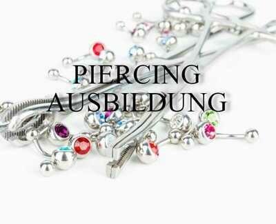 Piercing Ausbildung Online