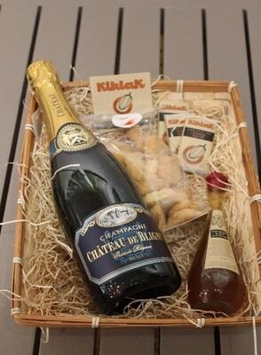 Coffret Gourmand - Champagne de Bligny & sablé