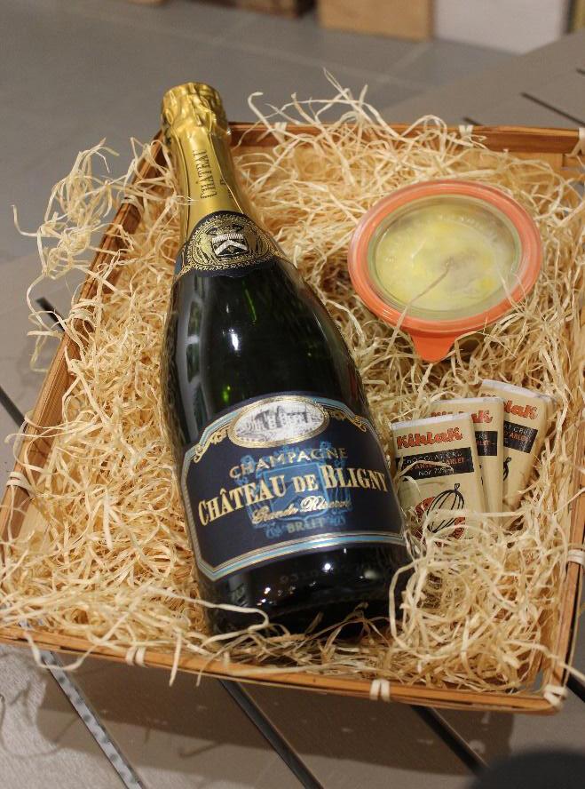 Coffret Gourmand - Champagne de Bligny
