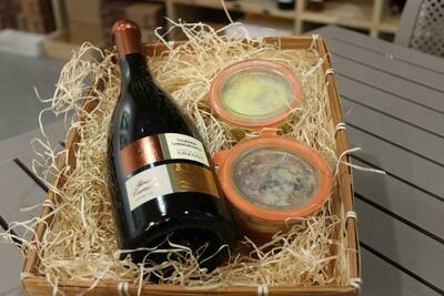 Coffret Gourmand - Vin rouge de Loire