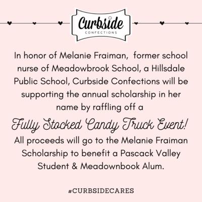 #Curbsidecares: Melanie Fraiman Scholarship RAFFLE