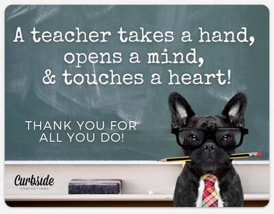 Teacher Appreciation Candygram