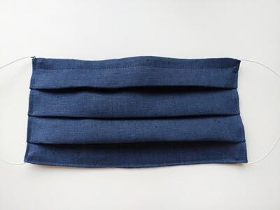 Mascherina di lino e tessuto filtrante antibatterico