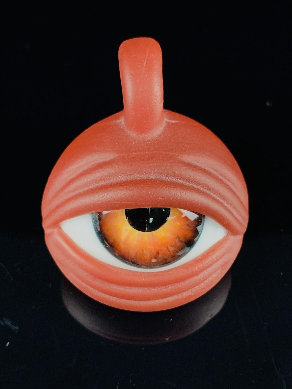Ryan Fitt Eye Pendant Custom Red