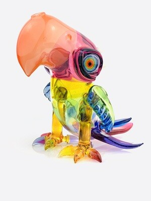 RJ Rainbow Fade Macaw