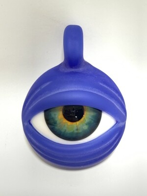 Ryan Fitt Eye Pendant Custom Blue