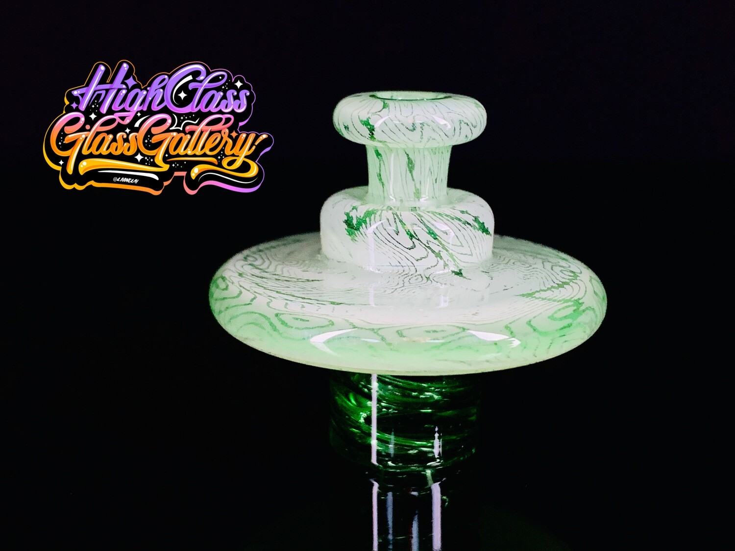 El3tro_B Fumed Emerald Spinner Cap #2