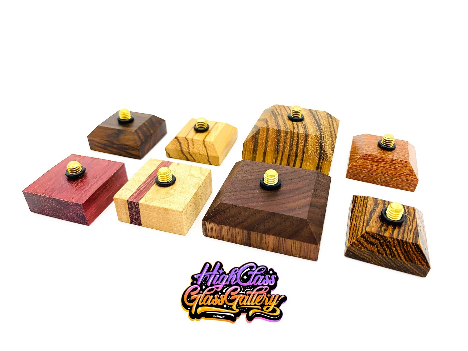 Wooden Terpometer Stands