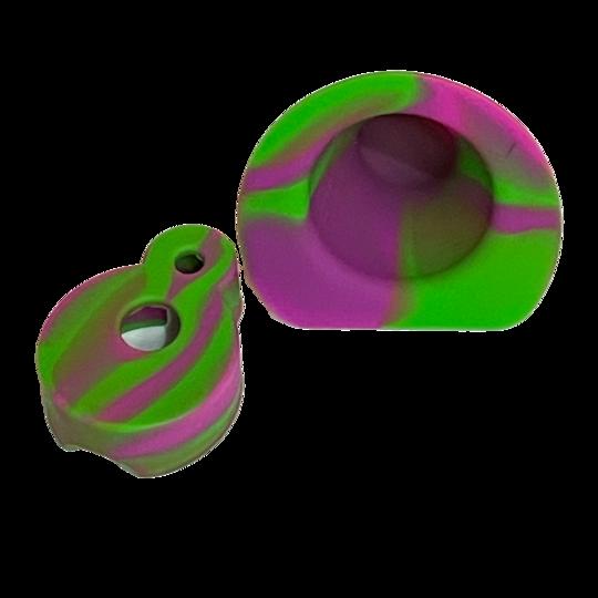 DabRite Purp/Green Silicone Cover