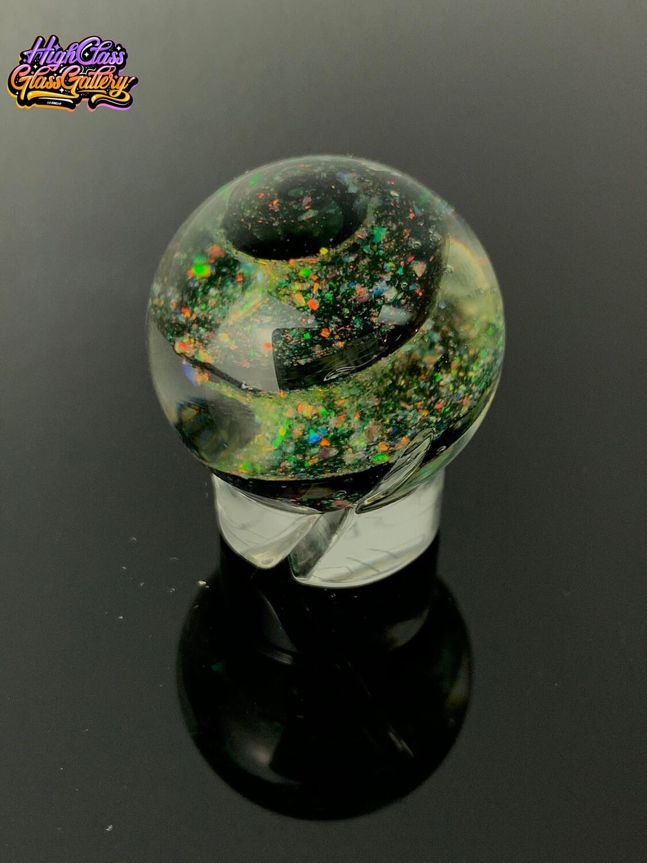 OTP Crushed Opal & Illuminati Spiral Marble Cap