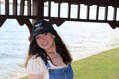 Black hat US flag on side
