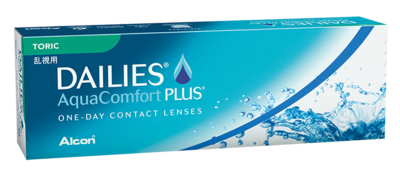 DAILIES® AquaComfort Plus® Toric Tageslinsen