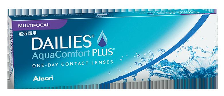 DAILIES® AquaComfort Plus® Multifocal Tageslinsen