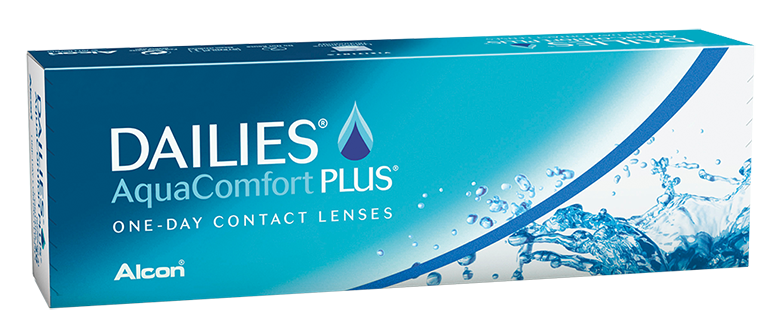DAILIES® AquaComfort Plus® Tageslinsen