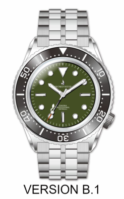 Prometheus Zenobia Green Dial No Date Version B1