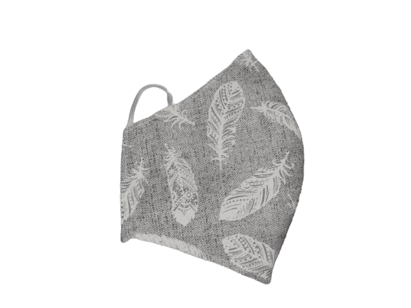 Mascarilla Reutilizable 3 Capas Adulto