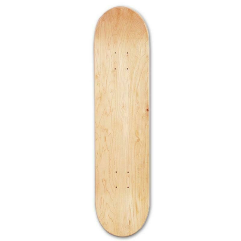 Скейтборд бланк (чистая дэка) + шкурка