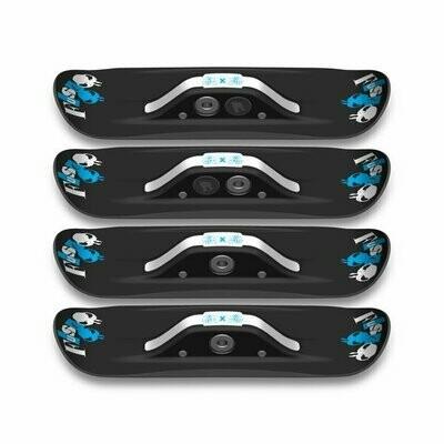 Набор мини лыж для скейта/лонга Fuse 4x