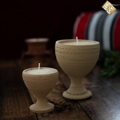 Muslimat Pottery Candle