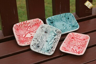 Soap Dishes - Square Shaped