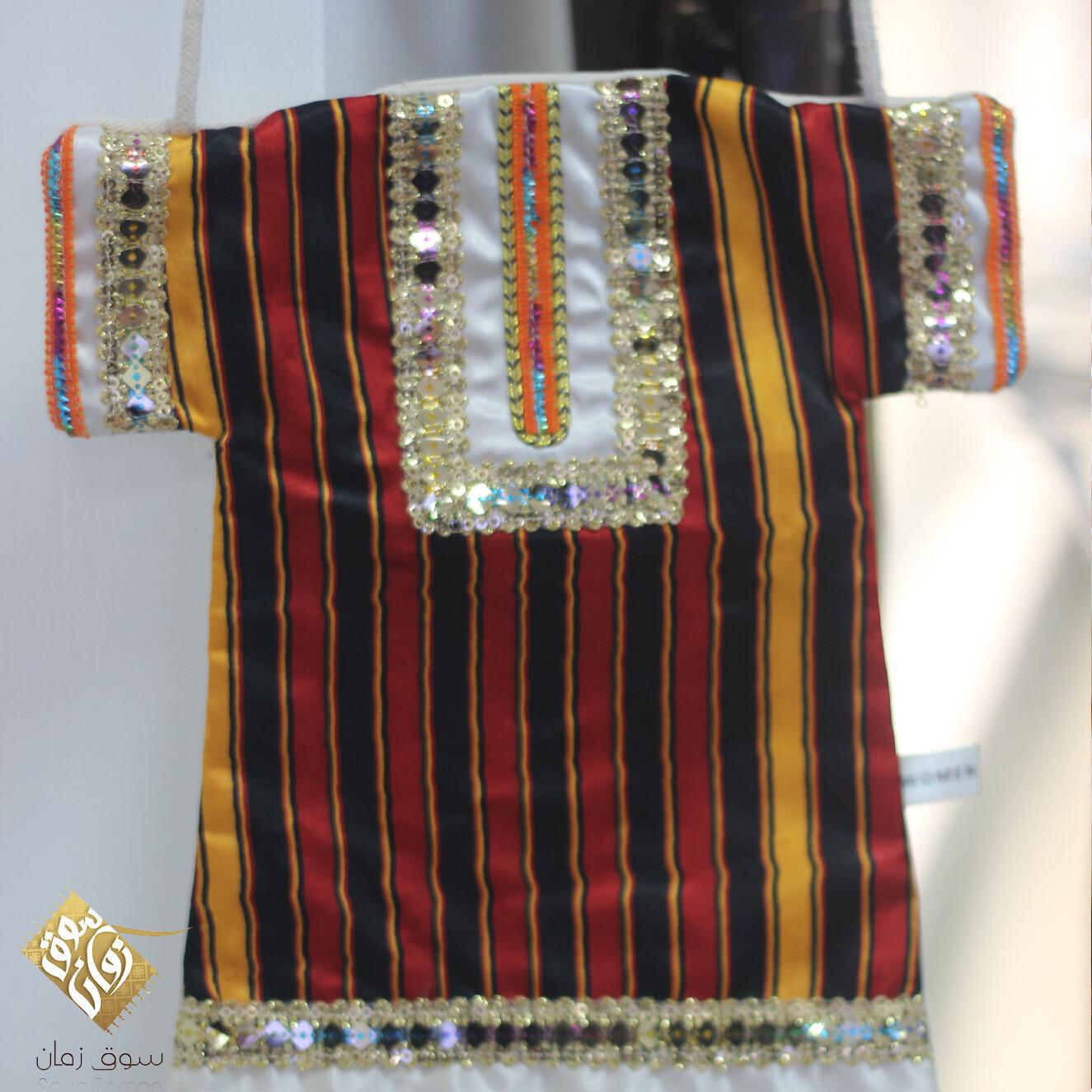حقيبة عمانية من النسيج