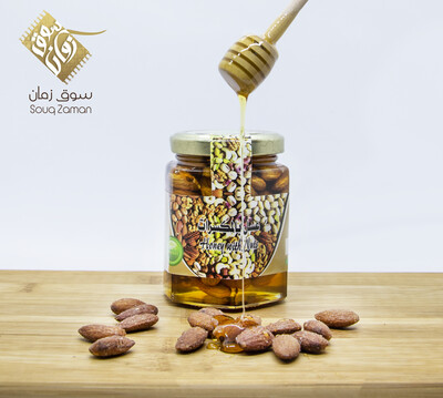 Pure Omani Honey with Nuts