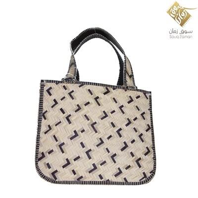 حقيبة يد من السعف - حجم وسط
