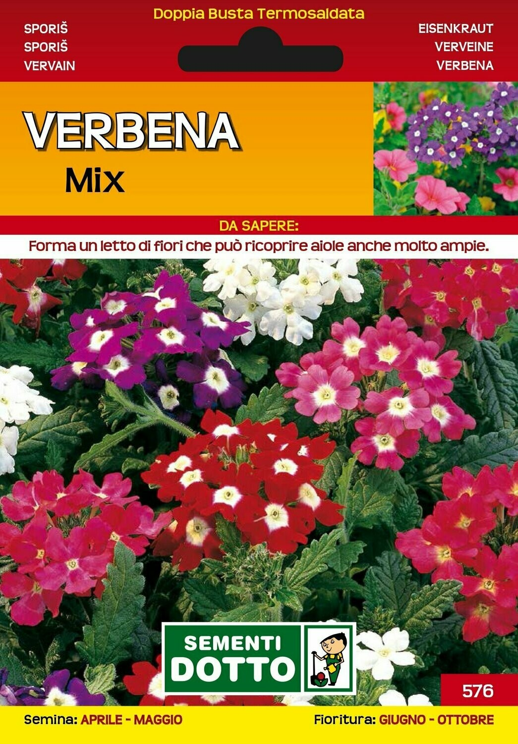 VERBENA MIX BUSTA SEMI