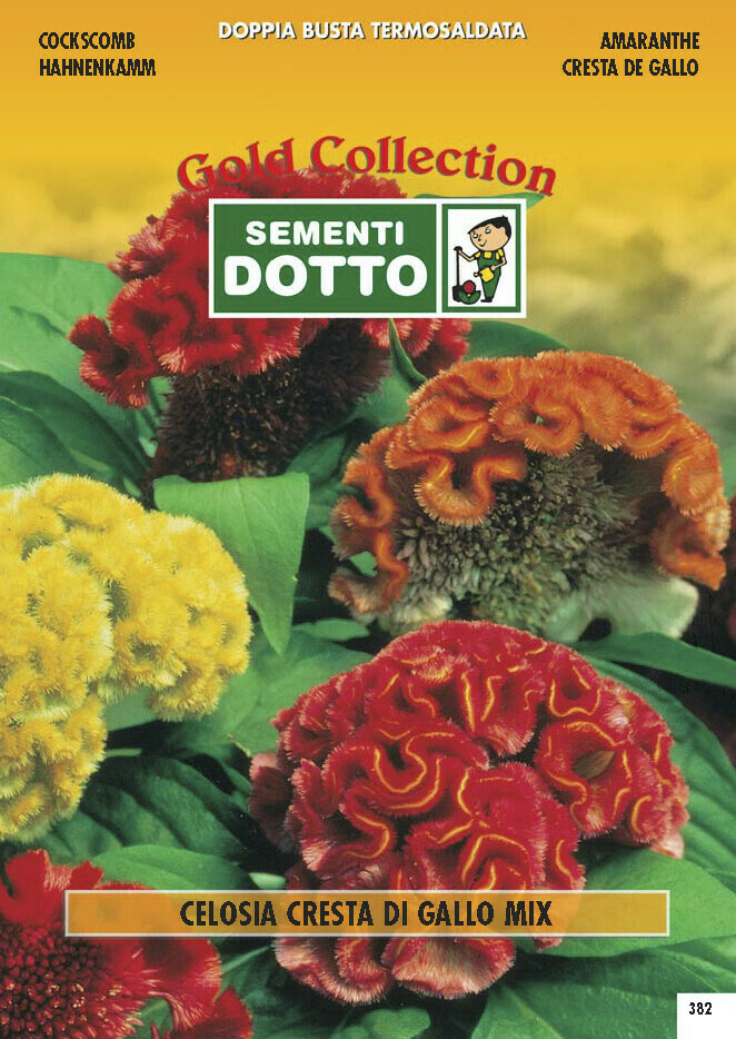 CELOSIA CRESTA DI GALLO MIX BUSTA SEMI