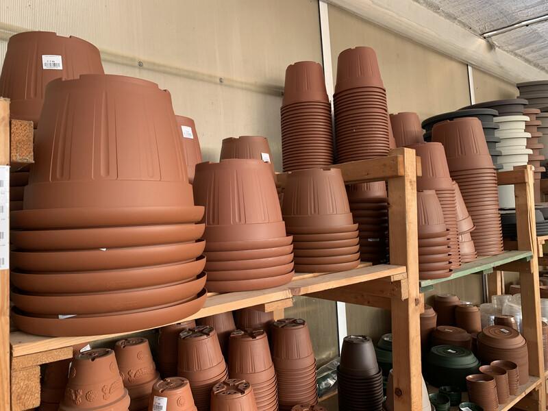 Vasi in Plastica Garden color Terracotta
