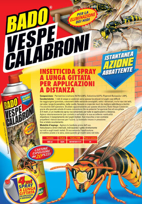 BADO SPRAY A LUNGA GITTATA Vespe600 ml
