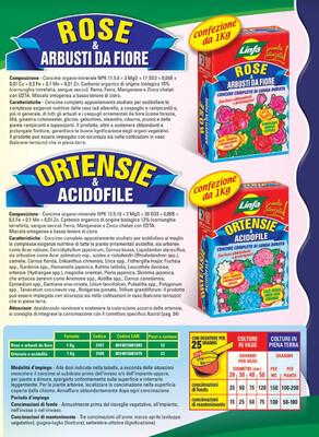 Concime Ortensie & acidofile 1 kg