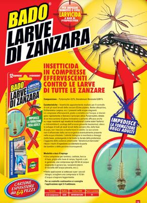 BADO LARVE DI ZANZARA